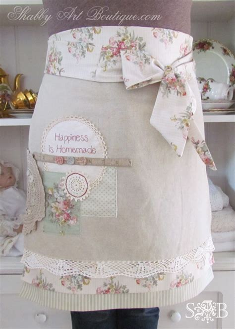 how to make altered vintage aprons shabby art boutique