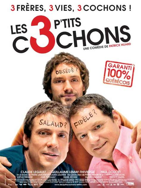 film streaming quebecois les 3 p tits cochons review trailer teaser poster