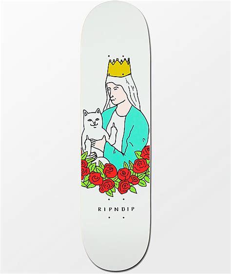 Kaos Rip N Dip Ripdip Ripndip 7 ripndip lord nermal 8 0 quot skateboard deck zumiez