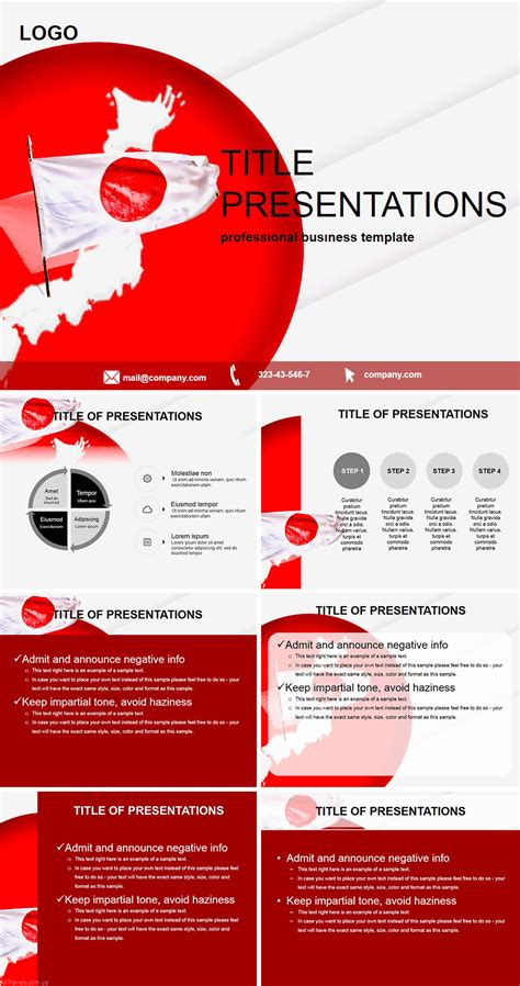japan country powerpoint templates imaginelayout com