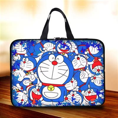 Doraemon With Bag doraemon laptop and tablet bag giftcartoon
