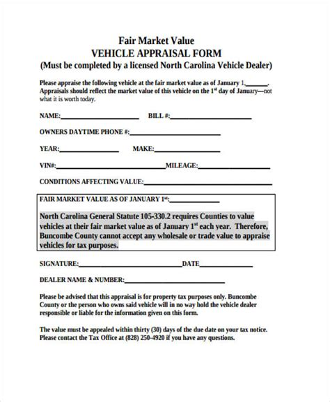 appraisal form template 11 blank appraisal form sle free sle exle