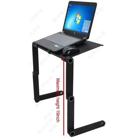 desk with cooling fan foldable laptop desk table with cooling fan tray stand and