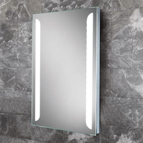 led mirrors for bathrooms hib livvy led bathroom mirror 500 x 700mm 77405000 77405000