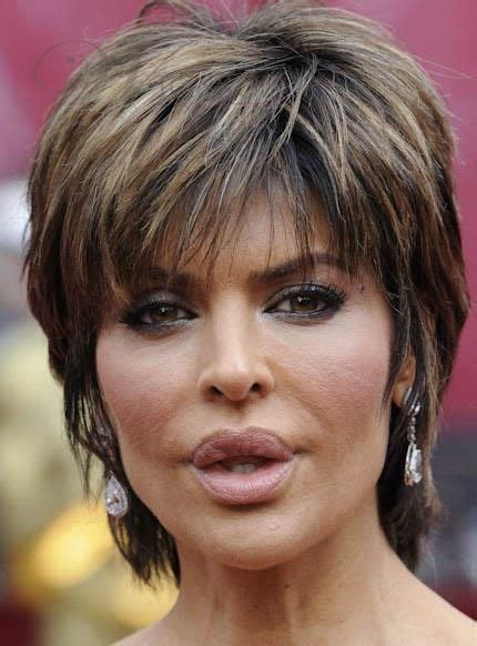 lisa rinna hair products latest trend short layered straight lisa rinna hairstyle