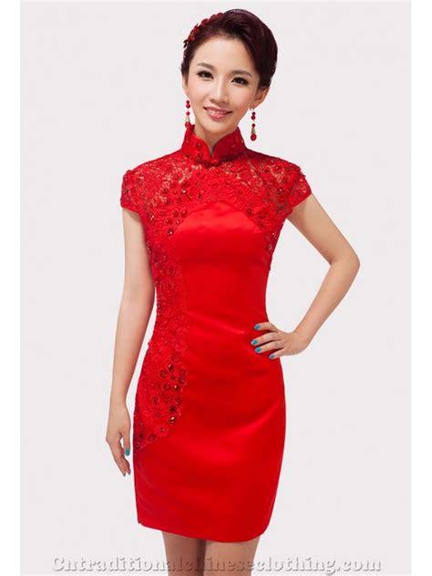 Cheongsam Dress lace dresses cheongsam qipao bridal