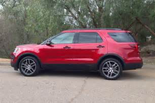 2016 Ford Explorer Sport Review 2016 Ford Explorer Sport Side Photo 8