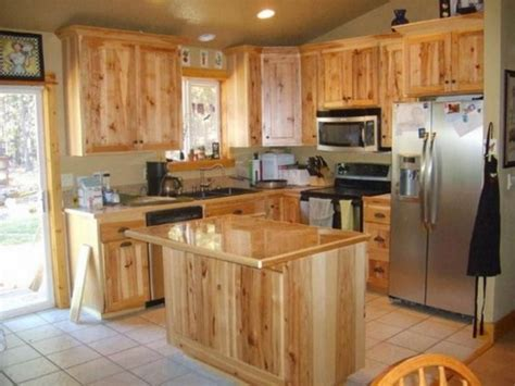 natural hickory kitchen cabinets knotty hickory kitchen cabinets hickory cabinets natural