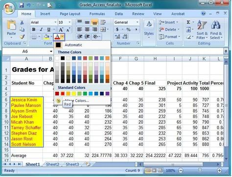 learning microsoft excel in pdf microsoft excel 2007 learning book pdf mso excel 101
