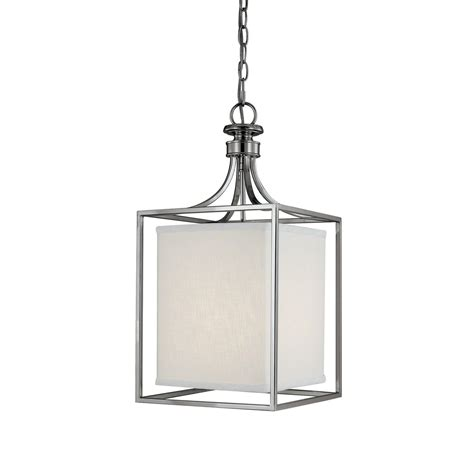 Pendant Lantern Lights Capital Lighting Fixture Company Midtown Polished Nickel Two Light Lantern Pendant On Sale
