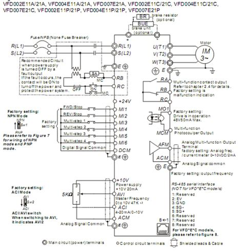 delta vfd el wiring diagram 27 wiring diagram images