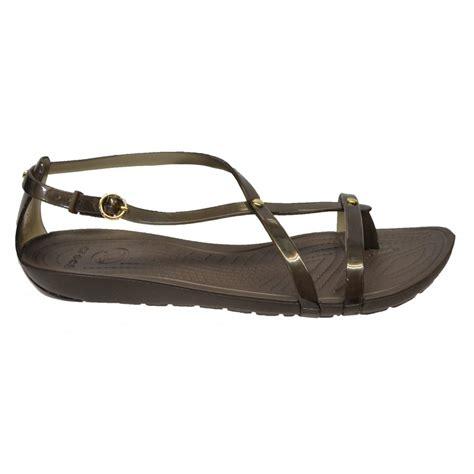 croc sandals crocs crocs really sexi flip espresso u1 14175 22z