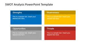 powerpoint swot template animated swot analysis powerpoint template slidemodel