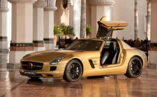 Golden Mercedes Desert Gold 2010 Mercedes Sls Amg To In Dubai