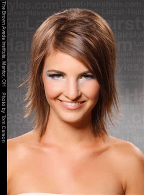 sassy medium haircuts for thick hair sassy medium hairstyles