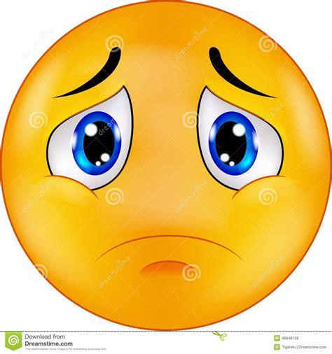 imagenes sad face emoticon sorridente triste del fumetto illustrazione