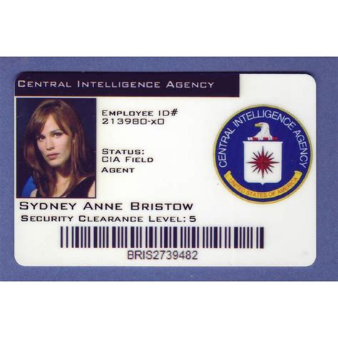 Nsa Id Card Template by Cia Id Badge Related Keywords Cia Id Badge