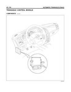 2003 Hyundai Sonata Transmission Problems 2006 Hyundai Elantra The Transmission Relay Cant