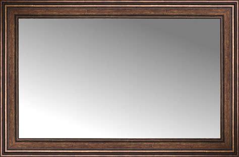 32 x 48 mirror 48 quot x 32 quot arqadia bronze traditional custom framed mirror