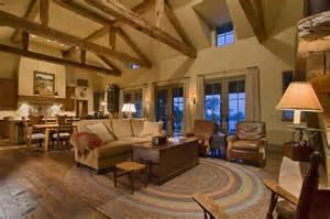 Pole Barn Home Interiors Hill Country Retreat