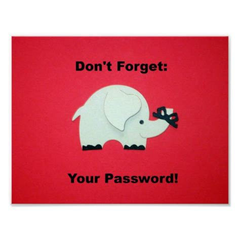 Dont Forget The Detox by Don T Forget Your Password Poster Zazzle