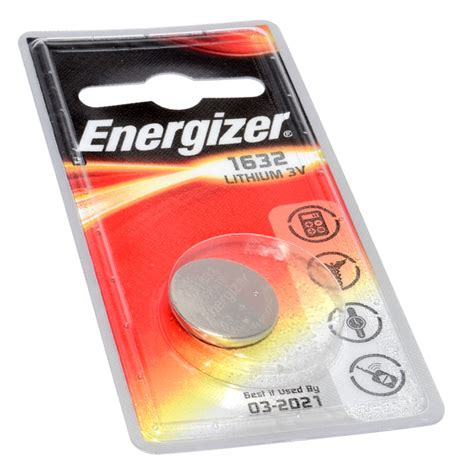 Batteries Shelf by Energizer Lithium Cell Button Battery Cr1632 3v 1 Pack Ebay