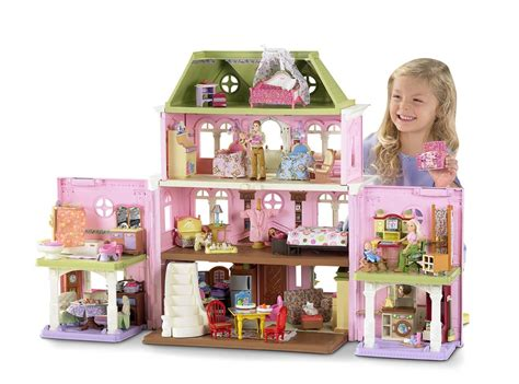 playskool doll house new fisher price loving family grand dollhouse ebay