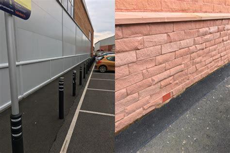 flood mitigation solution installed  supermarket