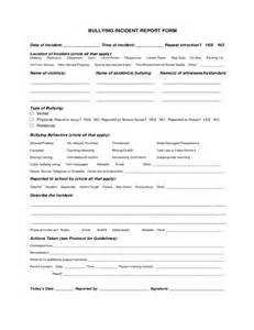 reporting an incident at work sample bullying incident reporting form sample free download best photos of work incident report form workplace