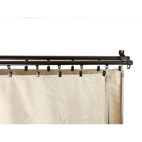 double rail curtain rods double track curtain rods curtain menzilperde net