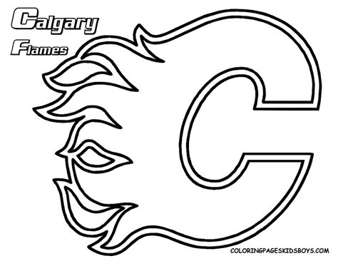 Delco Phantoms Kids Corner Nhl Hockey Coloring Pages