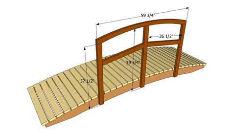 small bridge plans garden pond bridges plans woodworking projects plans