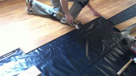 How to install Pergo laminate flooring on concrete