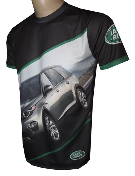Kaos Big Sizet Shirttshirt Land Rover Discovery City Offroaders land rover t shirt with logo and all printed picture t shirts with all of auto moto