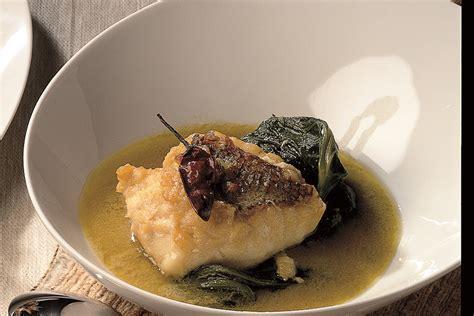 ricette per cucinare lo scorfano ricetta zuppetta di scorfano e bietole la cucina italiana