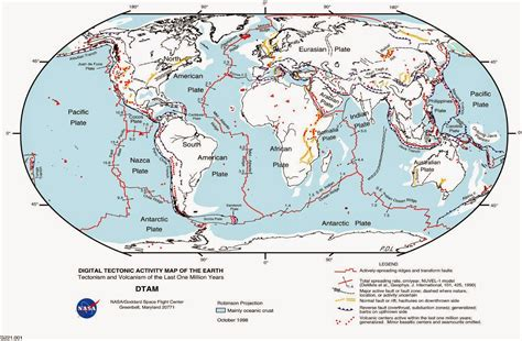 Earthquake Fault Lines Map | world map of fault lines free printable maps