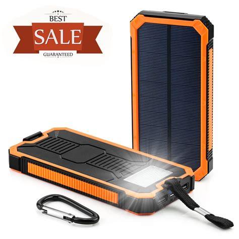 Powerbank 1 Cell Ulir 8000mah Tanpa Packing power bank mobile solar charger 8000mah 10000mah solar power bank buy mobile solar charger