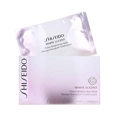 Shiseido White Lucent Intensive Brightening Mask by Shiseido White Lucent Power Brightening Mask 6 Sheets