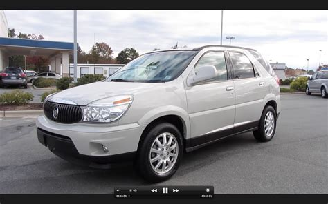 2006 buick cxl 2006 buick rendezvous cxl start up engine and in depth