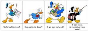 donald duck meichenbaum methode zorg pinterest