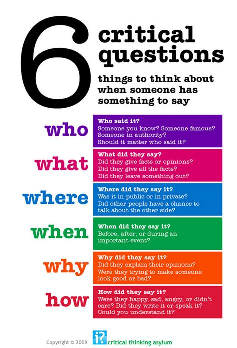 5 works of art to teach critical thinking interesting critical thinking posters for your class