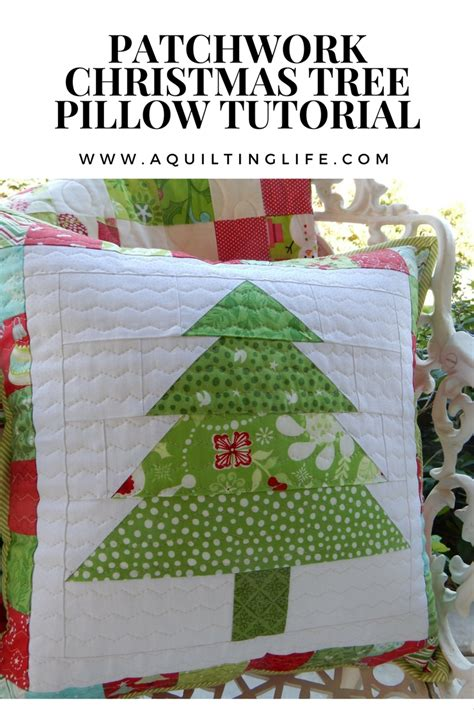 Patchwork Tree - patchwork pillow tutorial a quilting