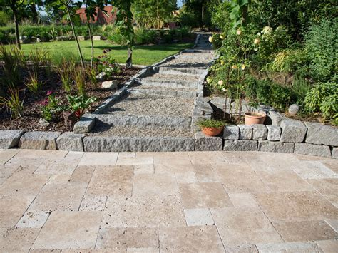 terrasse granit naturstein im garten jonastone natursteinhandel