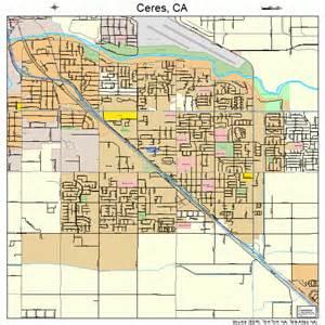 ceres california map 0612524