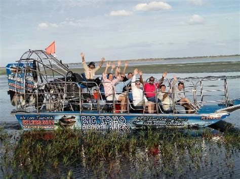 fan boat tours kissimmee big toho airboat tours kissimmee fl top tips before