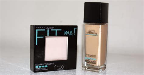 Maybelline Fit Me Poreless foundations maybelline fit me matte poreless