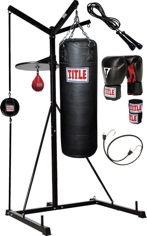 title  score punching bag stand  bags title mma