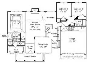 Split Bedroom Floor Plans Split Bedroom Floor Plans 1600 Square House Plans Pricing Blueprints 5 Sets 780 00