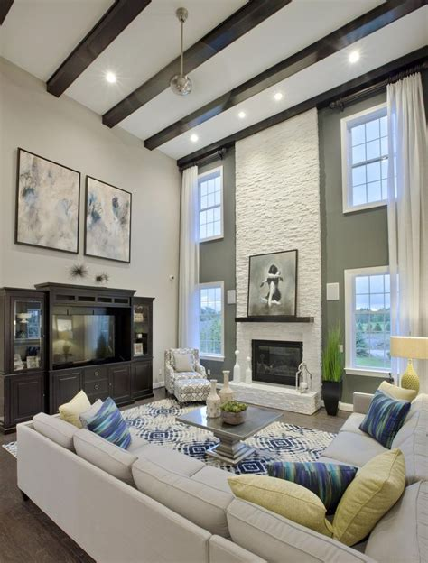 Ceiling Living Room Best 25 Vaulted Living Rooms Ideas On Pinterest Dining Rooms With Fireplaces Curtains For