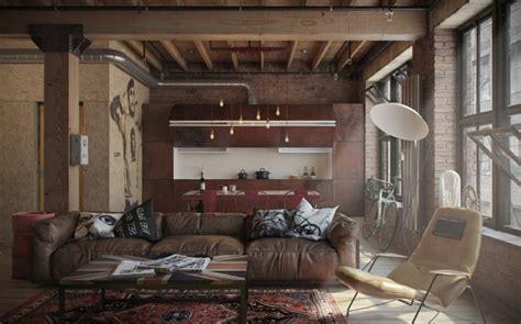 Modern Rustic Home Interior Design by Meuble Style Industriel Les Meilleurs Pour Votre Int 233 Rieur